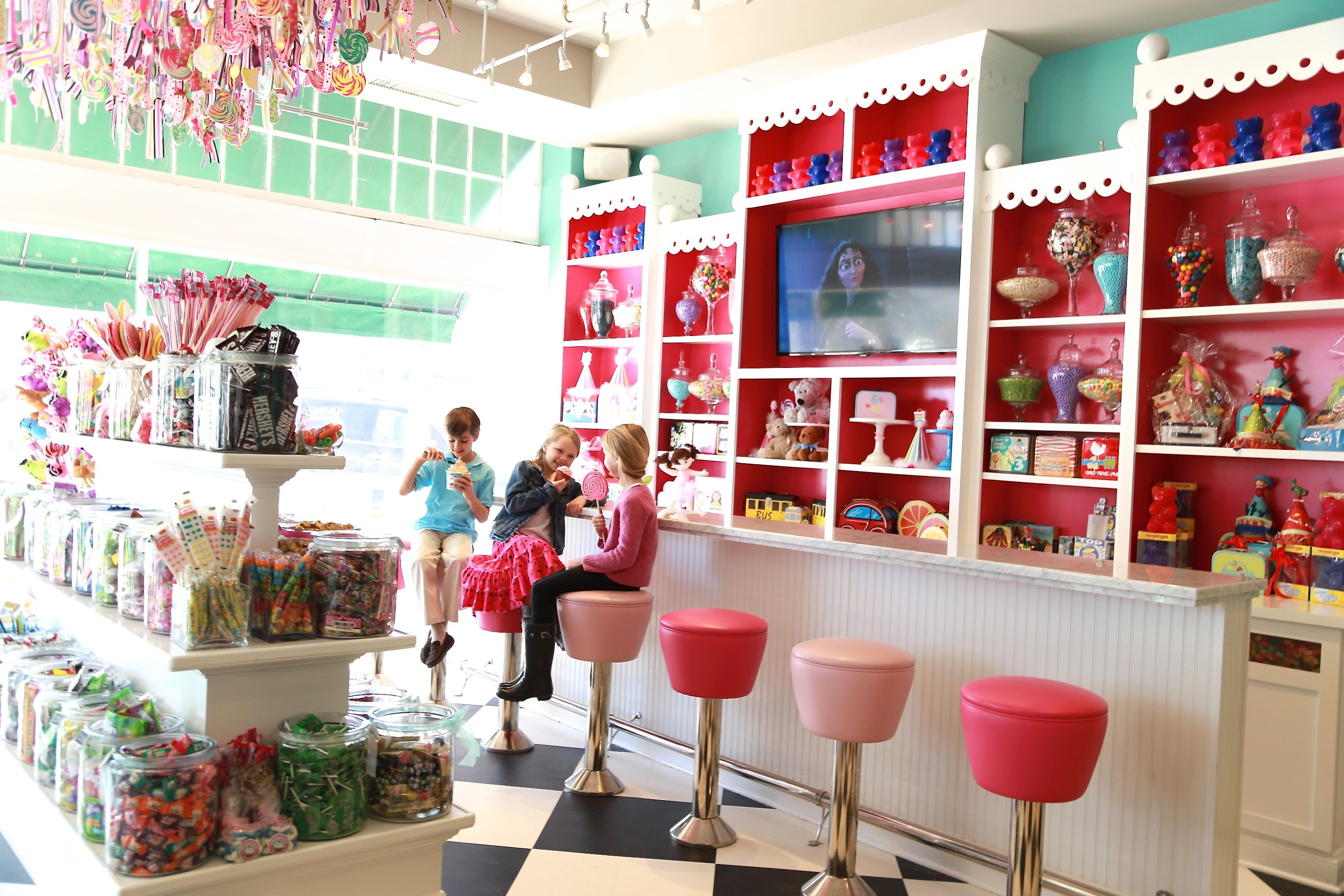 Beautiful Interiors Candy Store Design Candy Store Candy Shop