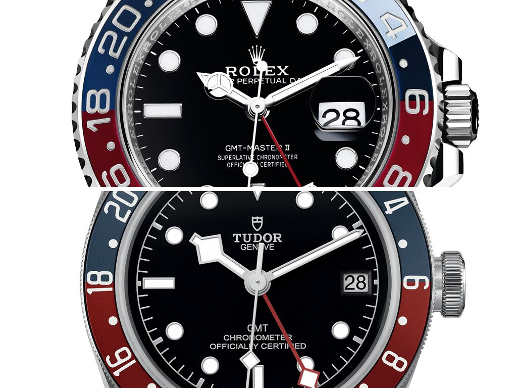 New Release A Tale Of Two Pepsi Gmt Watches Rolex Gmt Master Ii
