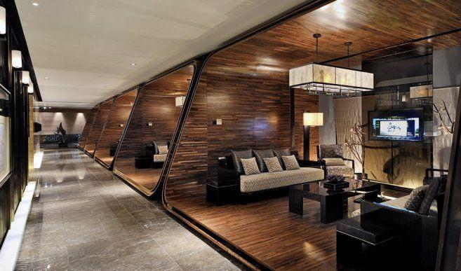 Modern chinese garden klidkris lin interior design