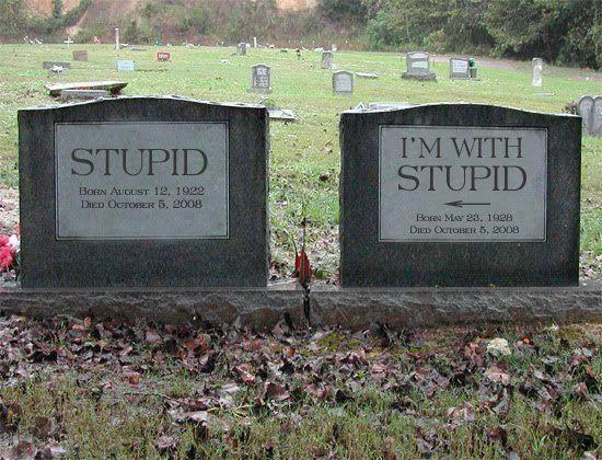 R.I.P Stupids