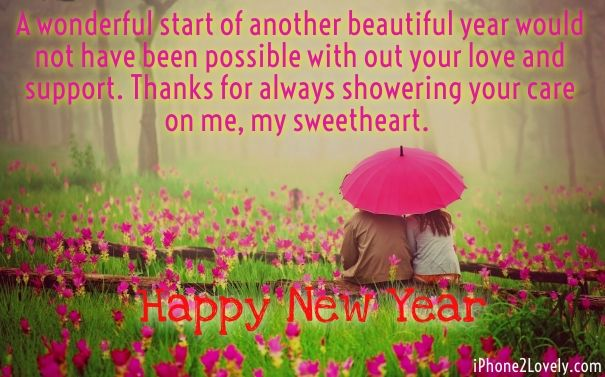 romantic new year wishes quotes for boyfriend