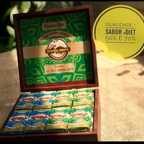 Qualidade + Sabor= Diet 50% e 70% 😉 #qualidadedevida #chocolatediet #chocolatesjupara   @onde_encontrar_jupara
