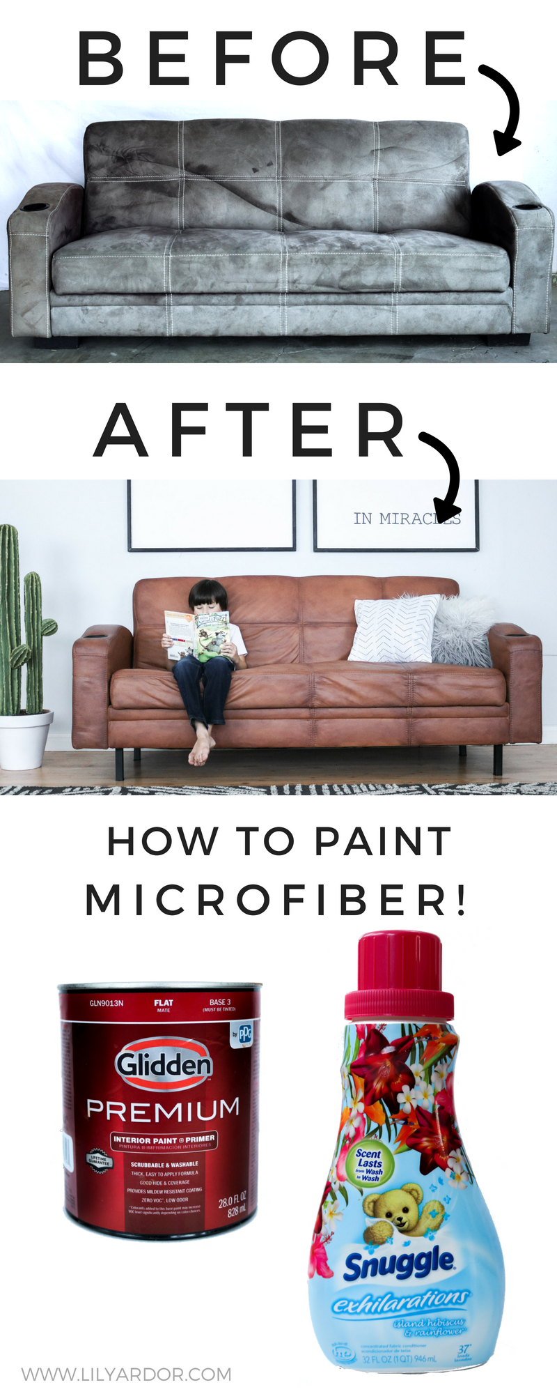Awesome How To Paint Your Microfiber Couch To Look Like Real Leather Machost Co Dining Chair Design Ideas Machostcouk