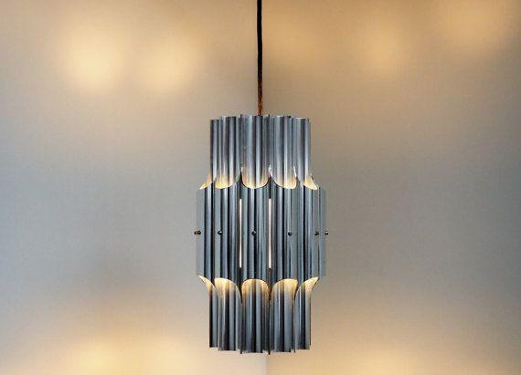 Reserved Aluminium Pan Pendant Designed By Bent Karlby For Etsy Pendant Design Danish Design Design