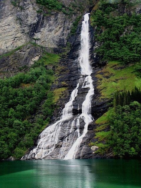 Fyord Waterfall, Norway