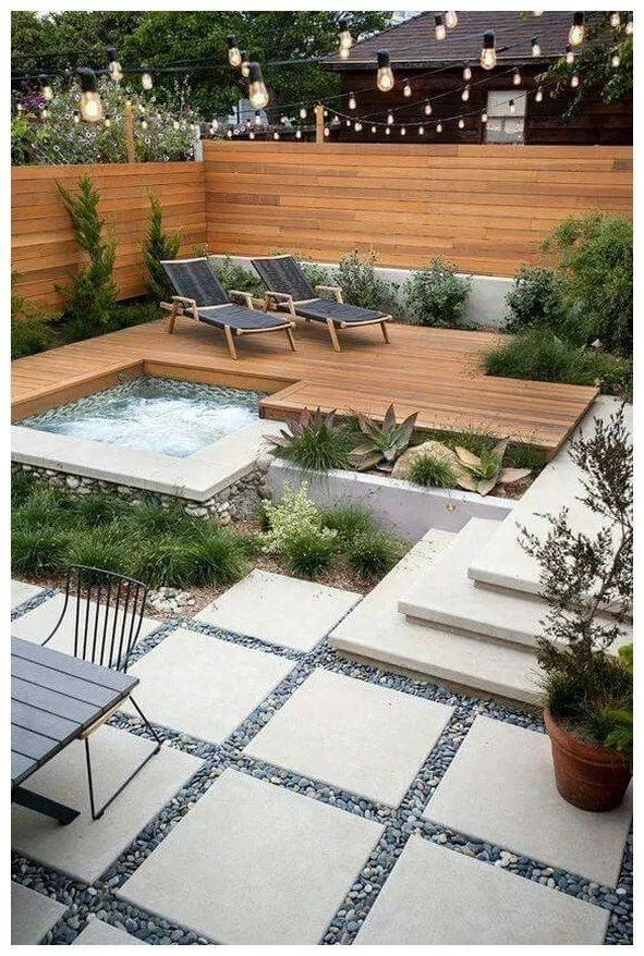 42 small patio garden decorating ideas 34 - yokk #gartendekoideen