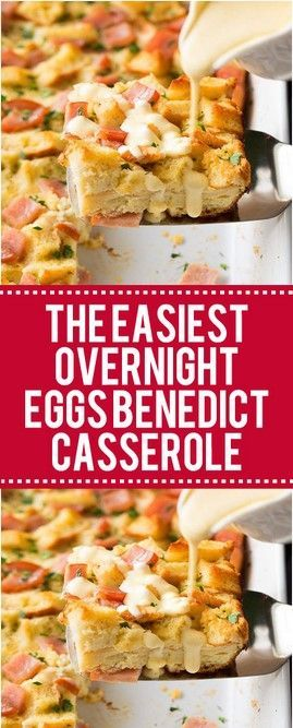 The Easiest Overnight Eggs Benedict Casserole  Page 2  Top cooking
