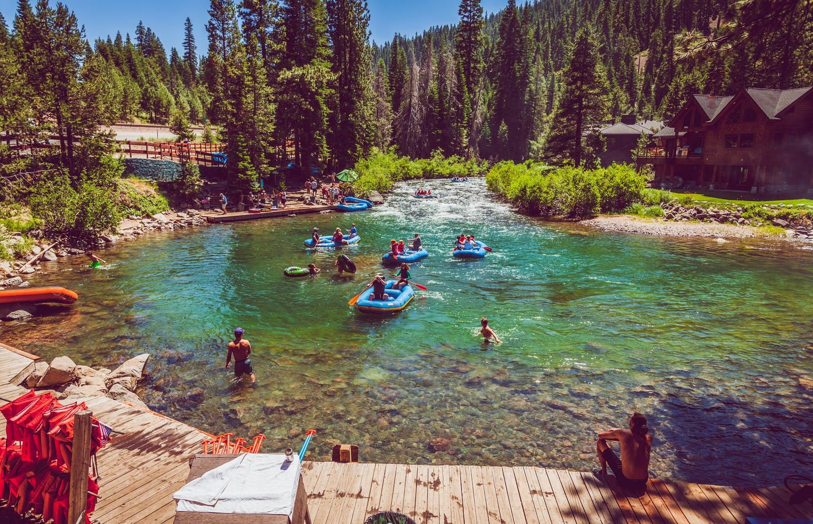 River Rafting On The North Lake Tahoe S Truckee River A Great 2 3