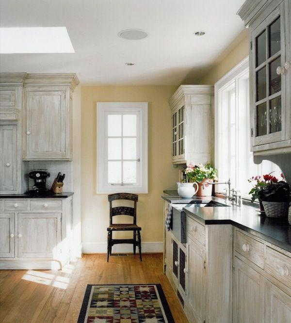 Kitchen Design Wood Cabinets, Whitewashing Old Cabinets