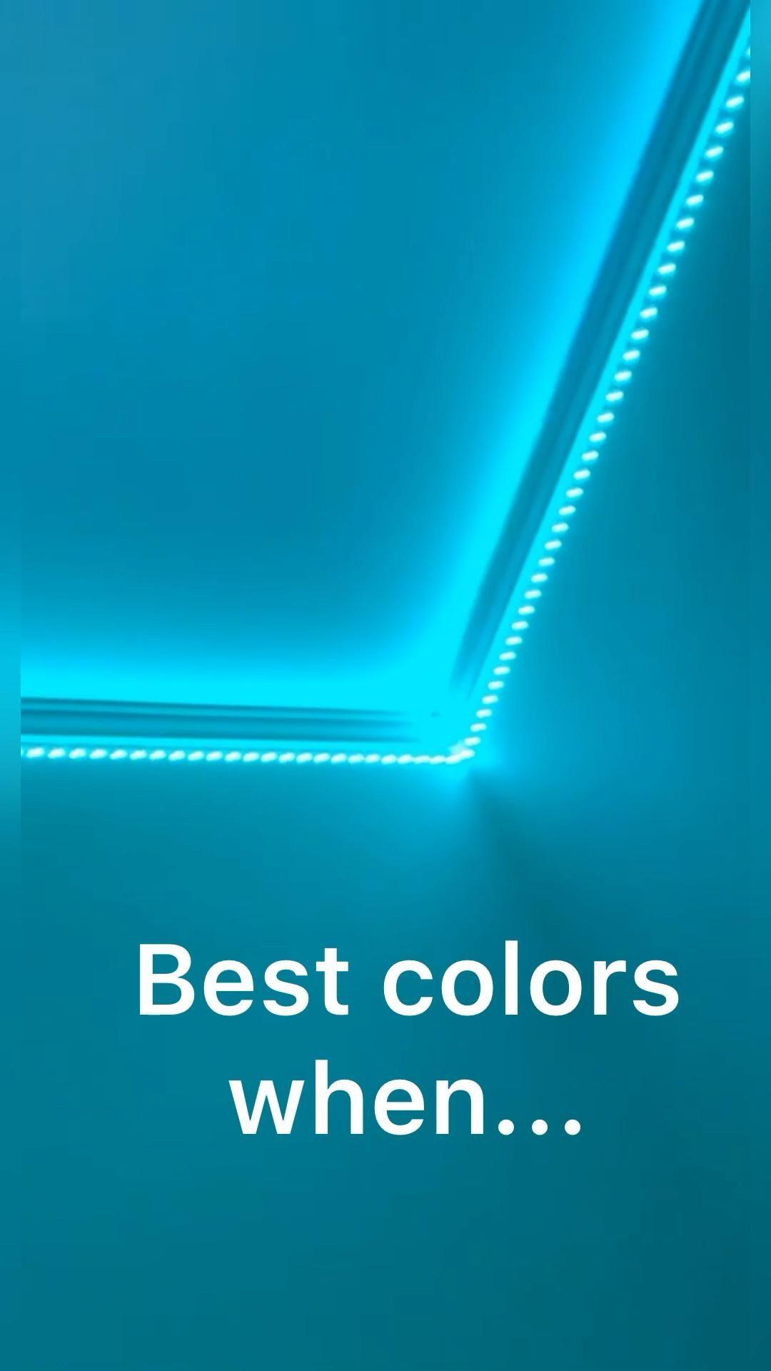 Best colors when .....