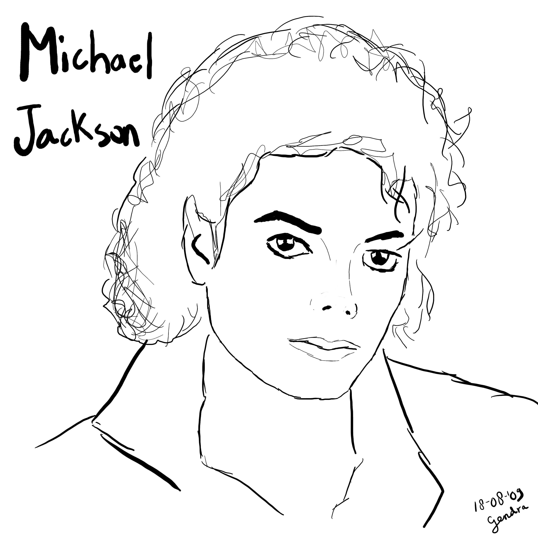 desenhos para colorir do michael jackson