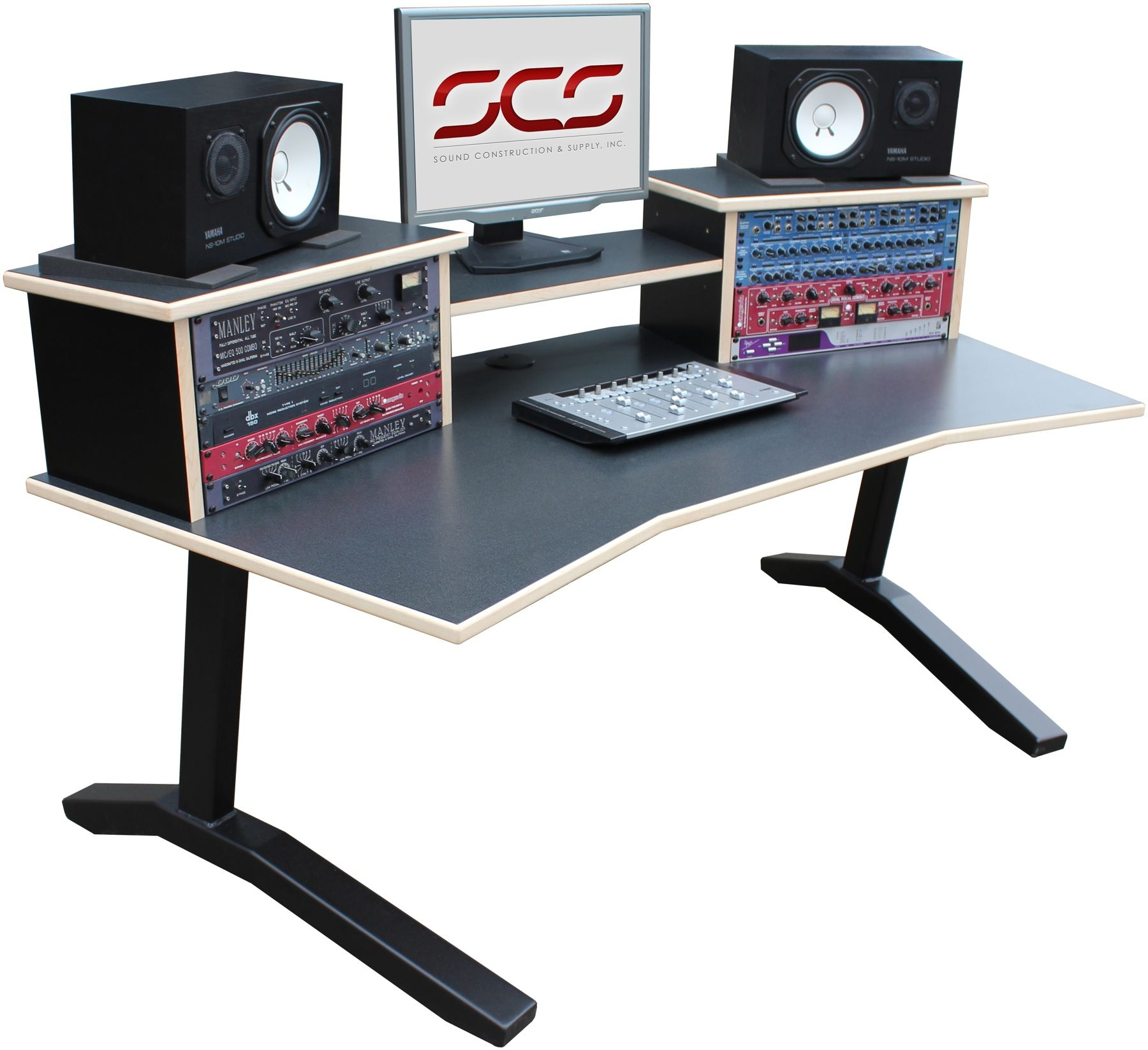 Steven Slate Audio Raven Mti Core Station Desk Only Home Studio Desk Studio Desk Desk