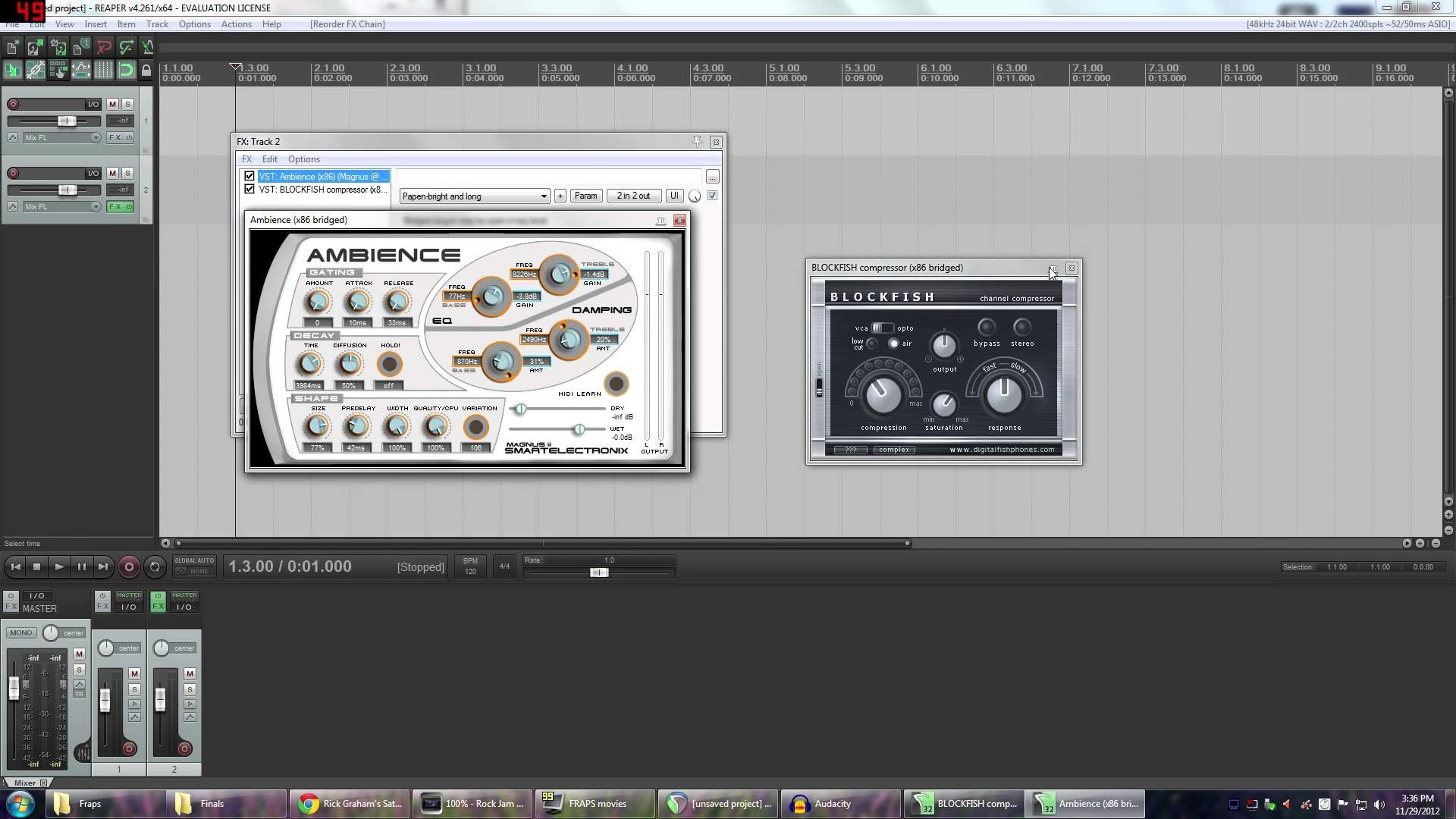 Reaper is a fantastic and affordable DAW. I have started