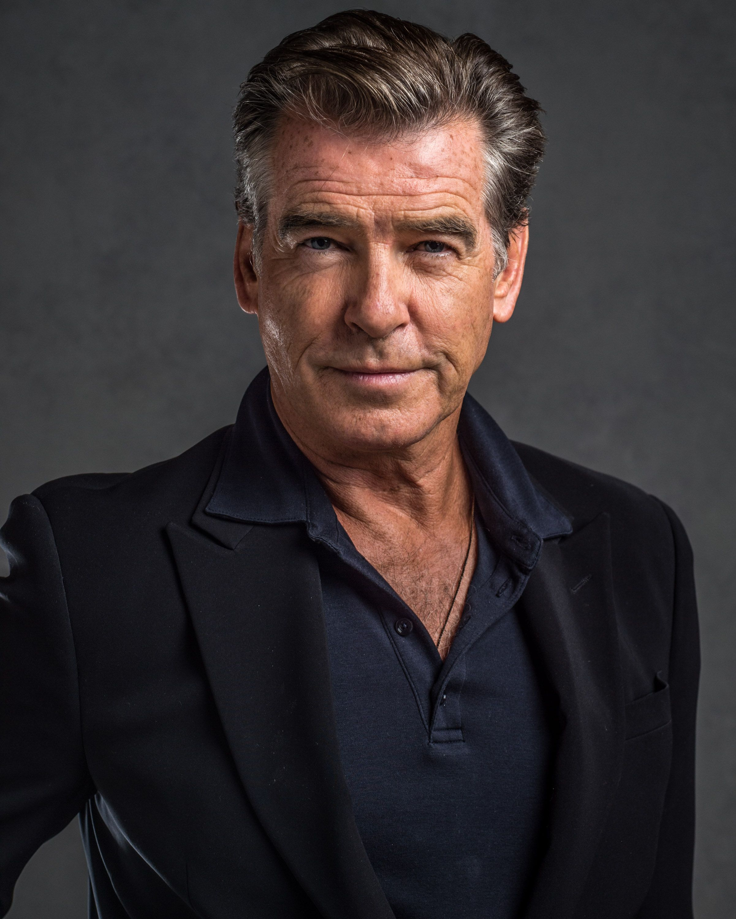 Pierce Brosnan as Police Commissioner Duncan in 2019 ...