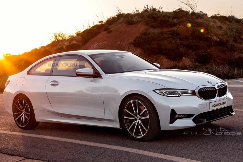 Spied 2020 Bmw 4 Series Coupe Looks Like A Baby 8 Series With