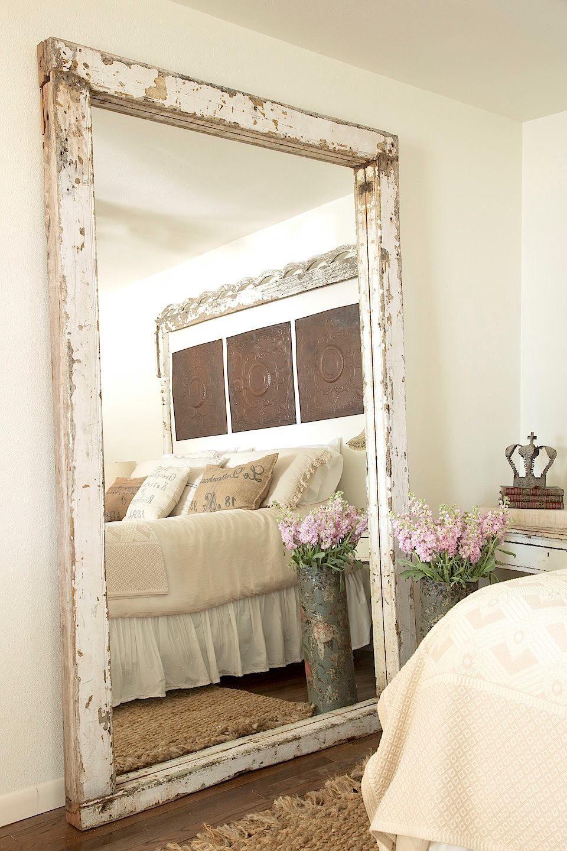 Fifi O Neill Master Bedroom Pinterest Espelhos Canoa E Deco ~ Espelho Decorado Para Quarto E Quarto Feminino Vintage
