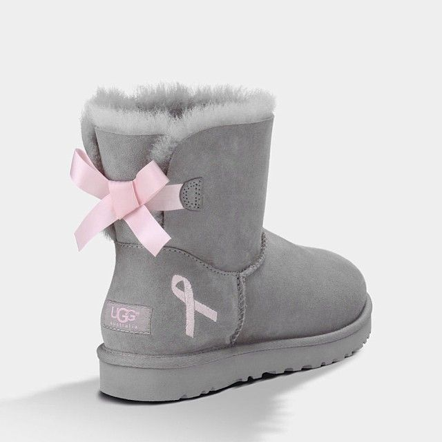 I already have gray uggs..but who cares these have a pink bow!!!