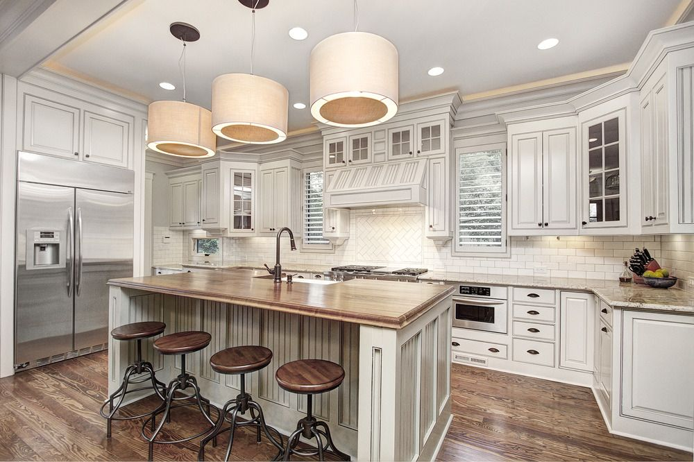 Carolina Craftsman Builders - Kitchen Custom Design.jpg ...