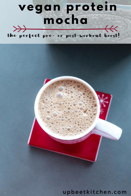 Vegan Protein Mocha In 2020 Nutella Mocha Superfood Coffee Vegan Protein