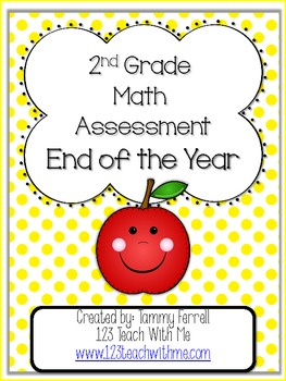 2nd Grade End Of Year Math Benchmarkessment