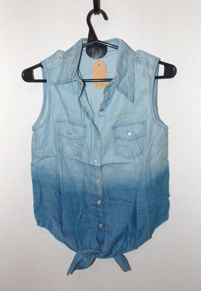 f7f3848b2 Coronadas Indumen Camisa de Jean con nudo en el frente - $140 ...