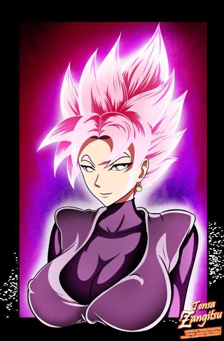 Genderswap Goku Black Super Saiyan Rose By Tensa Zangitsu Super