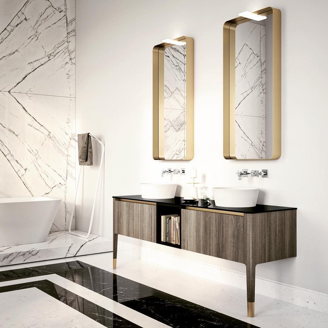 art by puntotre #bathroom #arredobagno #artdeco #design #homestyle ... - Casa Arredo Bagno