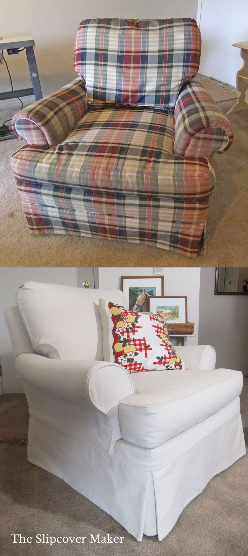 Custom Slipcovers in Natural Canvas (With images) Custom