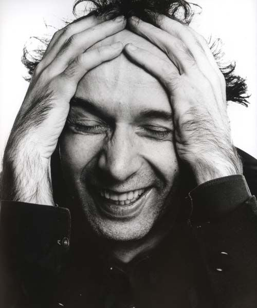 Roberto Benigni--This is a great portrait because you can totally see the man he is through this snapshot!!