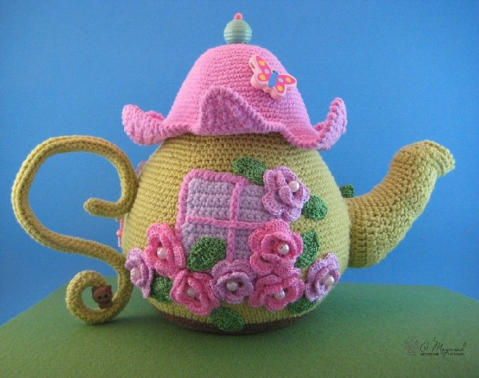 ❥Crochet Tea Cosies, Mug Hug Snugs and Cuppa Cosies. | Tea Cozies ...