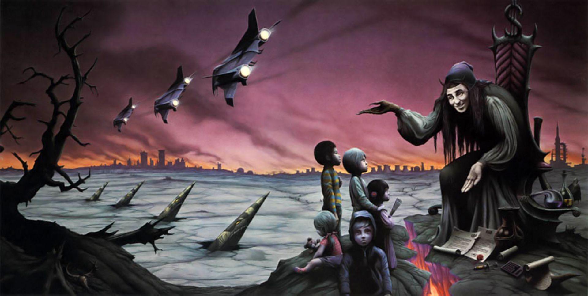Rodney Matthews The Eleventh Hour Magnum album cover art 1983 | 70s sci fi  art, Art, Fantasy illustration