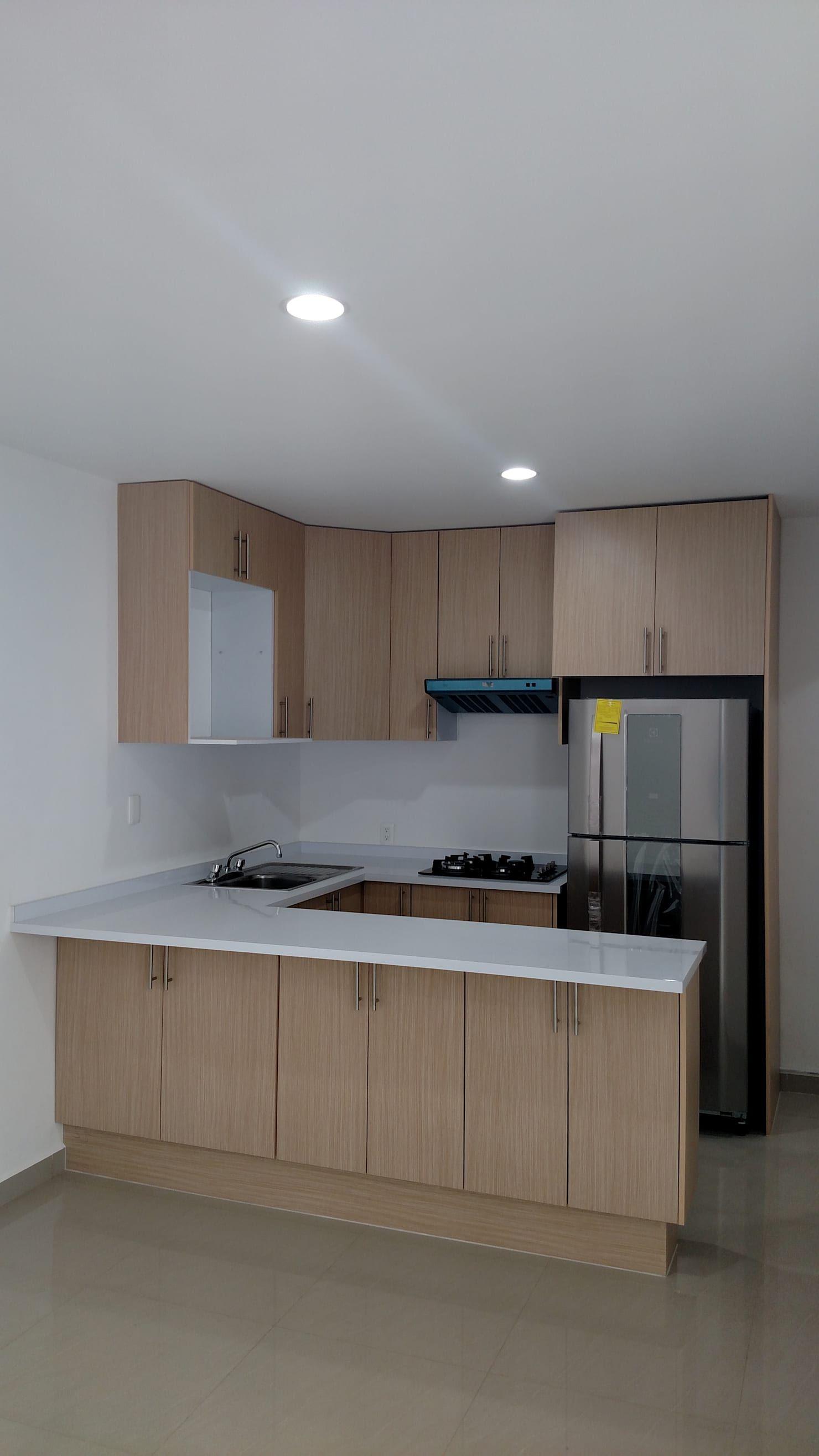 Remodelacion despacho de contadores cocinas modernas de h+r arquitectos moderno