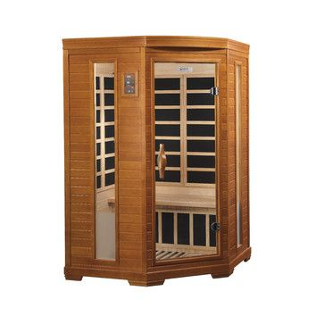 Dynamic Infrared 2 Person Corner Far Infrared Carbon Sauna