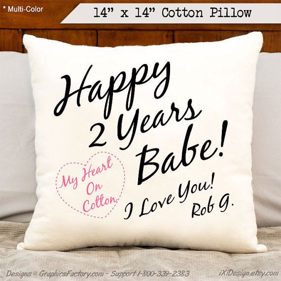Happy 2 Years Babe! I Love You
