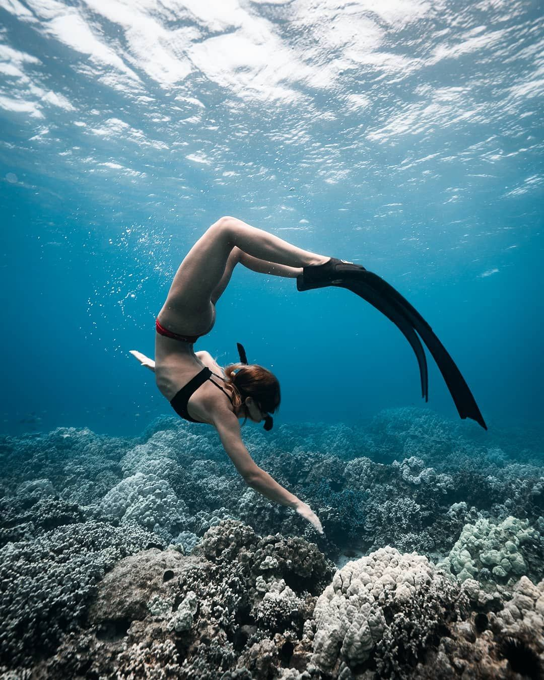 """The Big Blue"": Astonishing Underwater And Freediving"