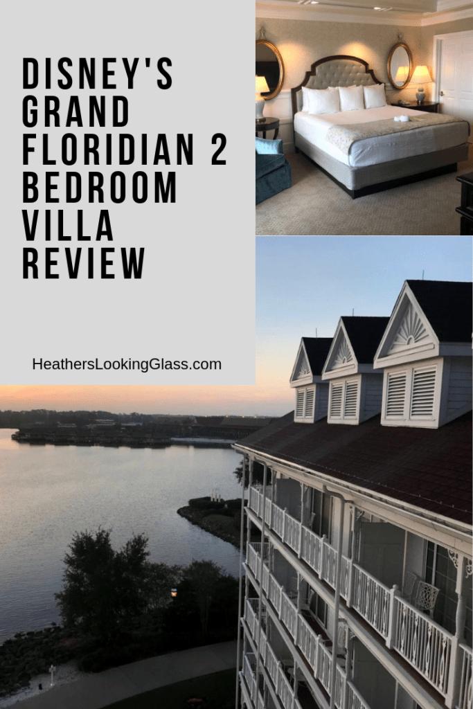 Disney's Grand Floridian 2 Bedroom Villa Grand floridian