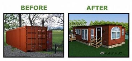 Shipping Container Homes For Sale | Park Model RV Trailer Shipping Container Homes for Sale in Seattle ...
