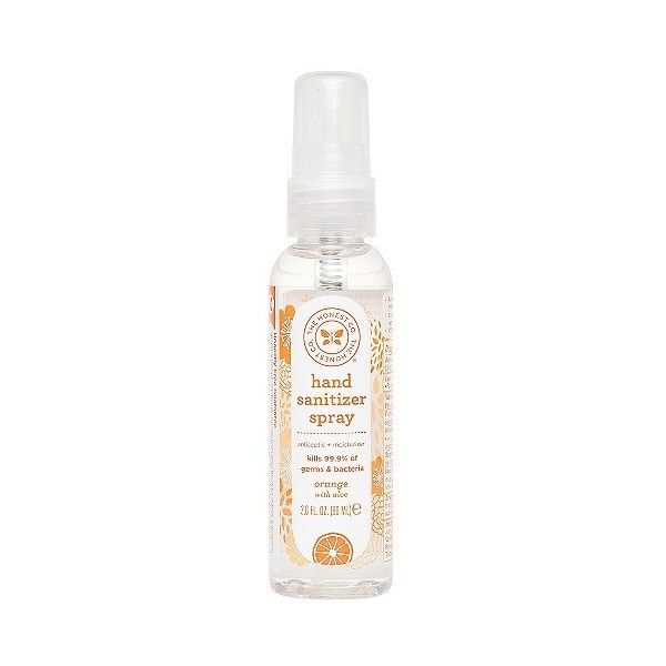 Honest Company Hand Sanitizer Spray Sweet Orange Vanilla 2 99