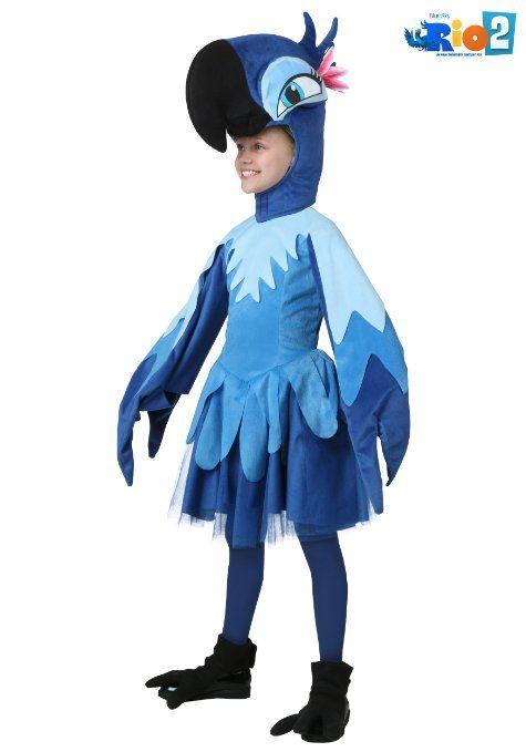Disfraz De Guacamayo Pelicula Rio Disfraces De Primavera Disfraces De Pajaros Disfraces De Niños