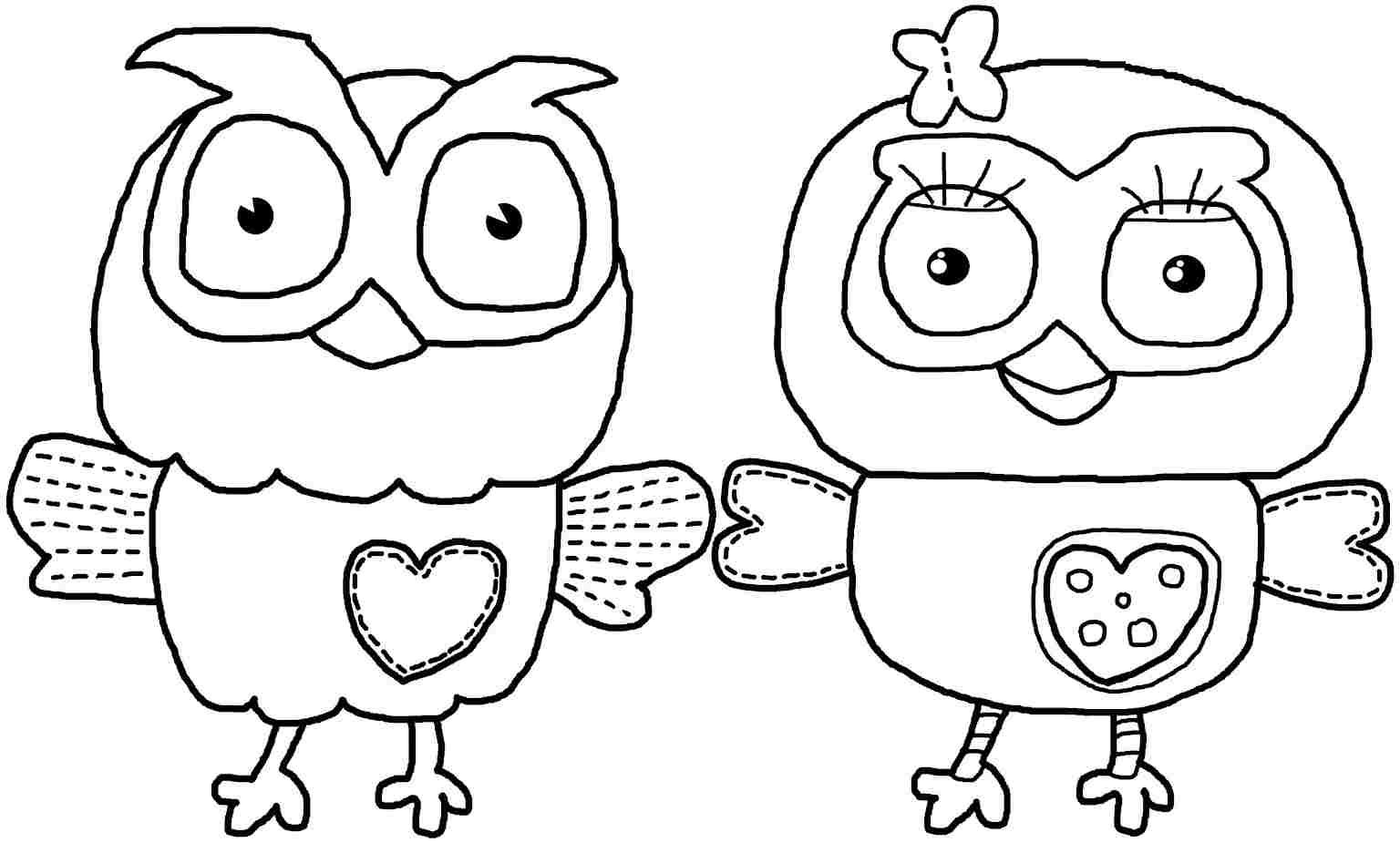 Owl Coloring Pages Printable Free Online
