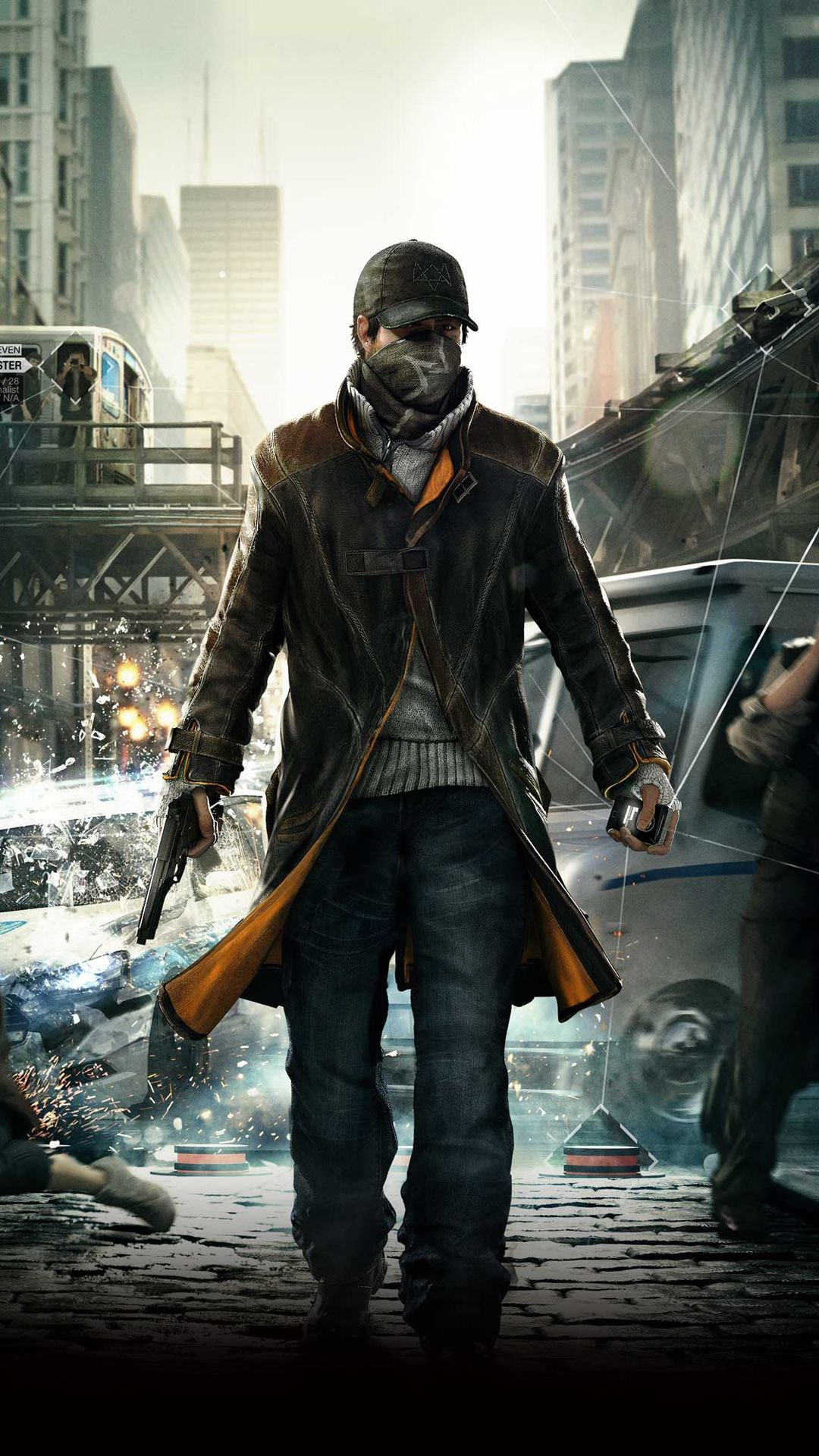Wallpaper iphone watch dogs - For Geeks Watch Dogs Aiden Pearce Black