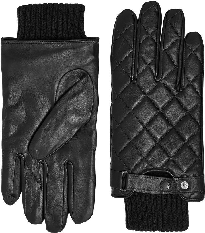 Barbour Quilted leather gloves | Gifts for Him | Pinterest ... : barbour quilted gloves - Adamdwight.com