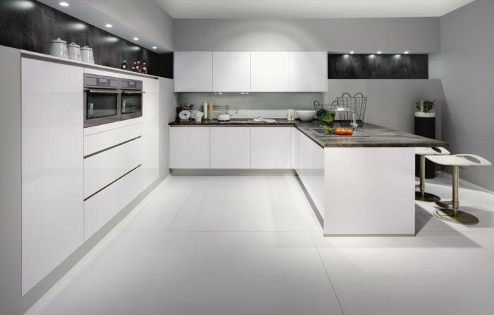 La cuisine laquée - une survivance ou un hit moderne? Kitchens and