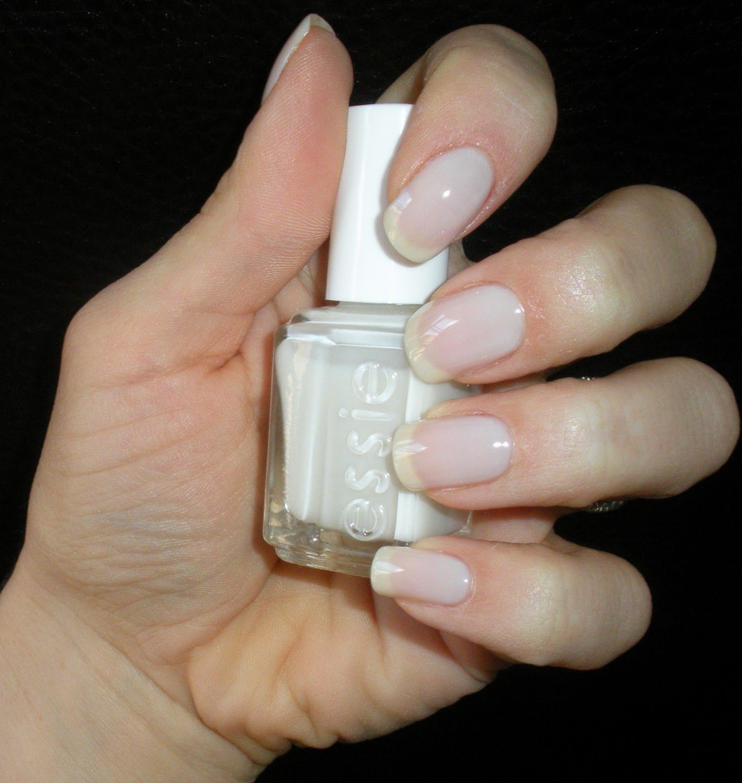 i own a second essie nail polish...this one is called waltz...one ...