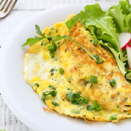 Recipes Omelet With Leeks Spring Herbs And Goat Cheese Sur La