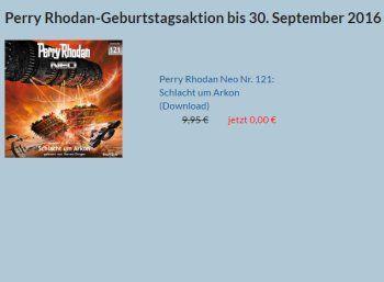 """Gratis-Hörbuch: Perry Rhodan Nr. 121 mit sechs Stunden Laufzeit zum Nulltarif https://www.discountfan.de/artikel/technik_und_haushalt/gratis-hoerbuch-perry-rhodan-nr-121-mit-sechs-stunden-laufzeit-zum-nulltarif.php Science-Fiction-Freunde kommen hier voll auf ihre Kosten: Das sechstündige Hörbuch """"Perry Rhodan Neo Nr. 121: Schlacht um Arkon"""" ist jetzt für kurze Zeit komplett kostenlos zu haben. Voraussetzung ist allerdings eine Registrierung. Gratis-Hörbuch"""