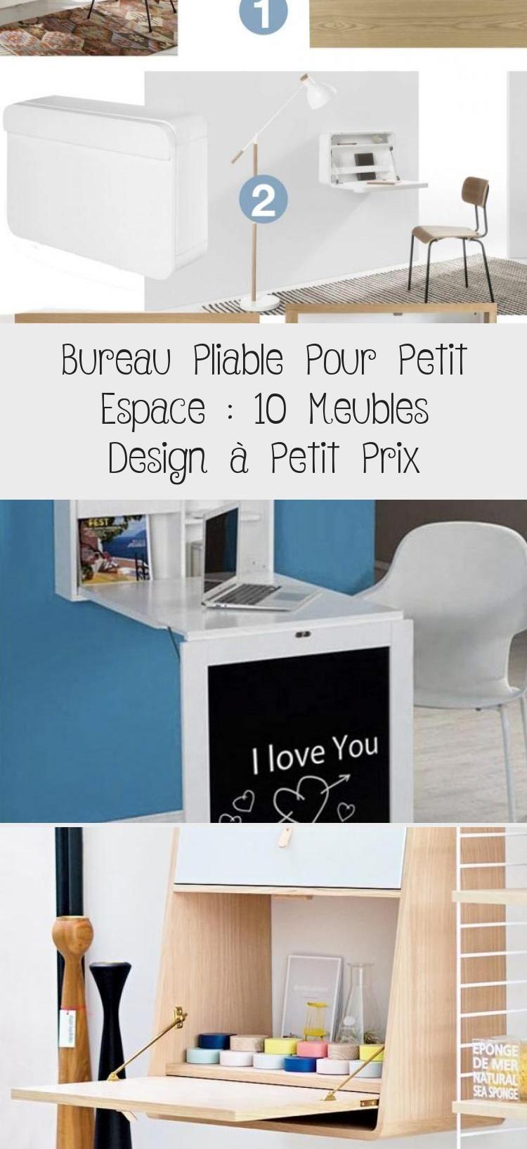 Bureau Secretaire Petit Espace bureau pliable pour petit espace : 10 meubles design à petit