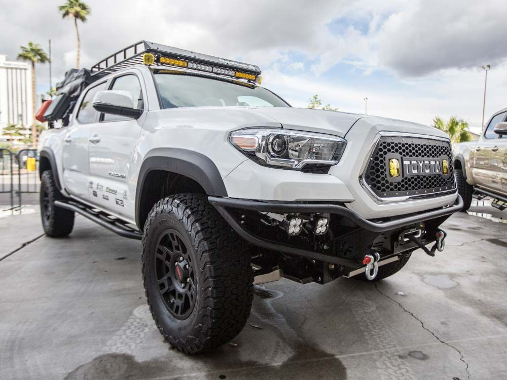 SEMA 2016 with Icon Suspension and DB Customs LED