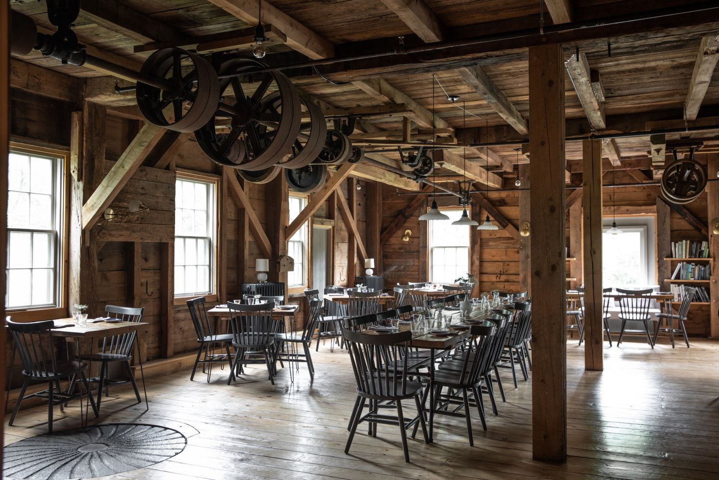 An Inside Look At The Lost Kitchen In Freedom Maine Interior