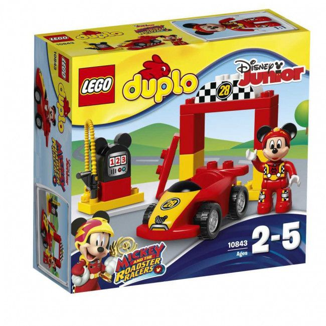 Voiture De Duplo Lego Course 10843Lucas La Mickey 6yYvbf7gI